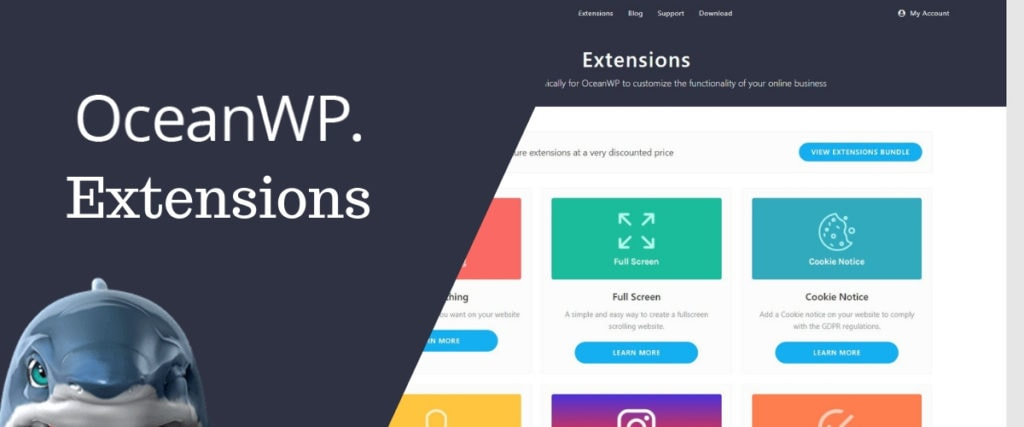 OceanWP Extensions
