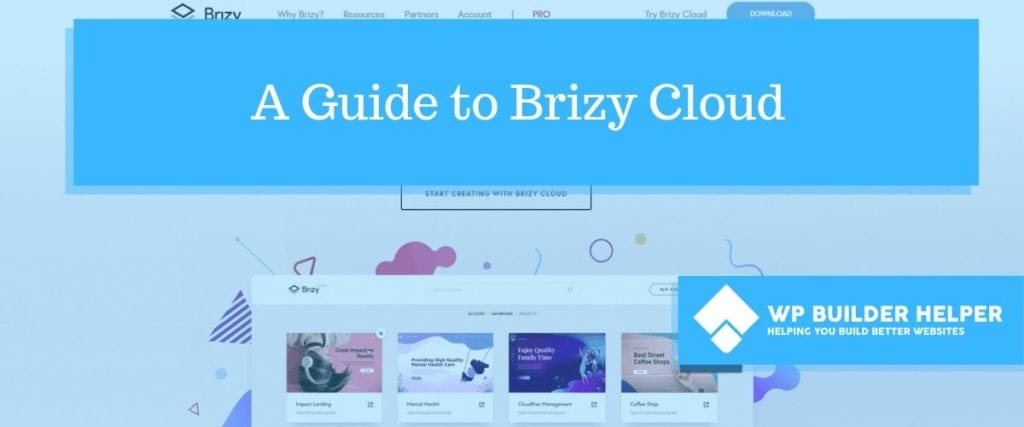 A Guide to Brizy Cloud