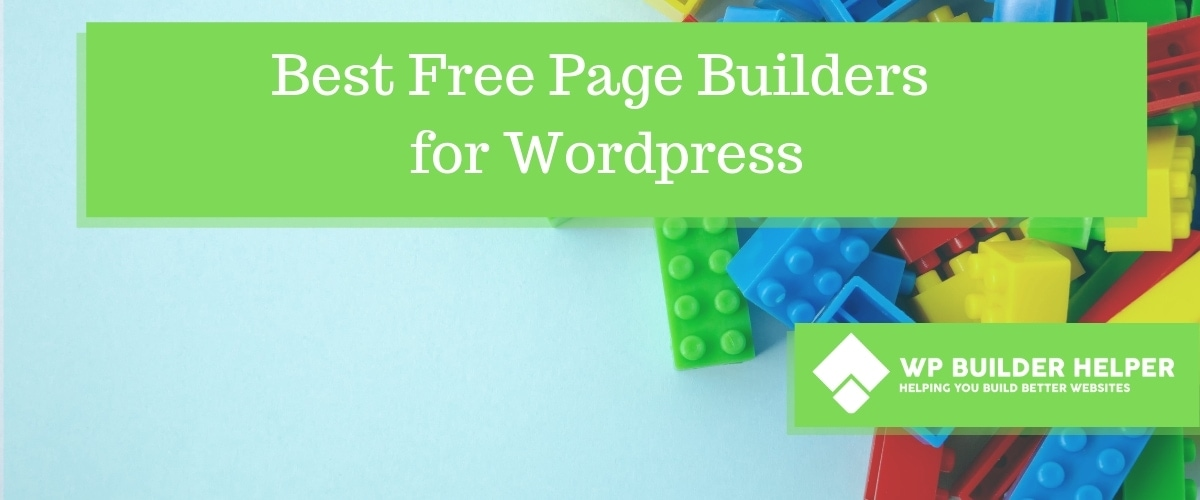 Best Free Page Builders for Wordpress