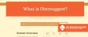 what is ubersuggest.com
