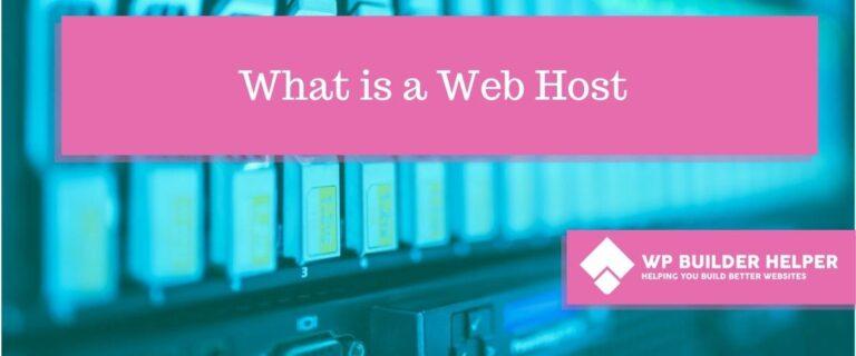 what-is-a-web-host