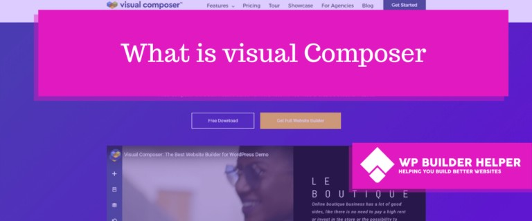what is visual composer
