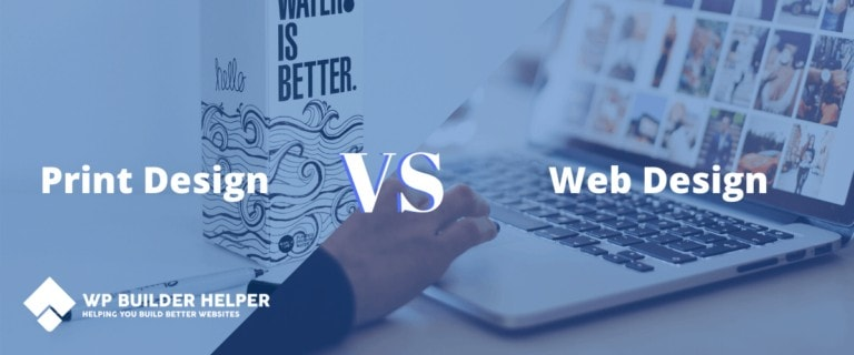web design vs print design